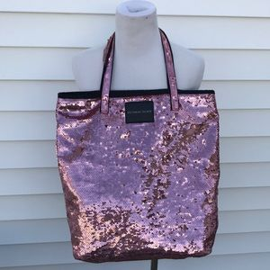 Victoria secret amazing pink sparkle bag